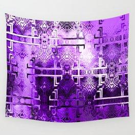 1001 Lights (amethyst-purple) Wall Tapestry