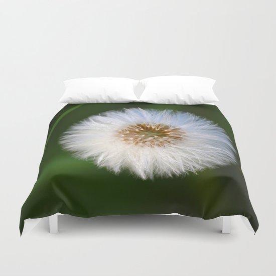 Softness Dandelion  Duvet Cover