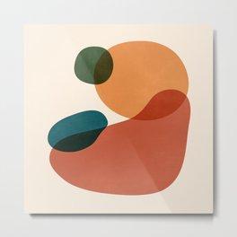 Abstract Shapes 27 Metal Print