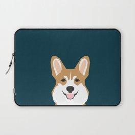 Teagan - Corgi Welsh Corgi gift phone case design for pet lovers and dog people Laptop Sleeve