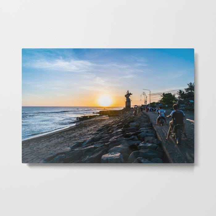 Canggu Sunsets Metal Print