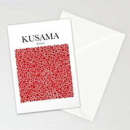 Kusama - Red Dots Stationery Cards