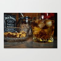 whiskey Canvas Prints featuring Whiskey by Tom Roberts