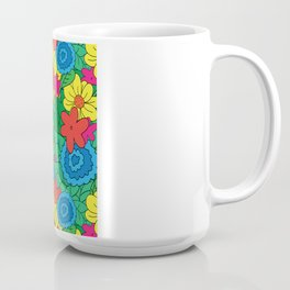 Vector Flowers Coffee Mug
