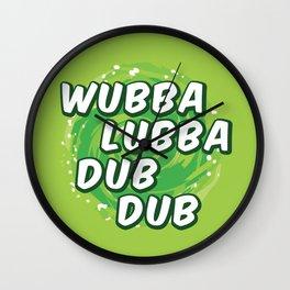 Wubbalubbadubdub Wall Clock