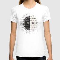 vienna T-shirts featuring Textures/Abstract 110 by ViviGonzalezArt