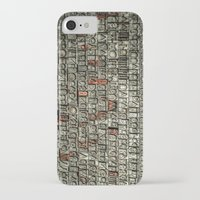 letters iPhone & iPod Cases featuring Letters by Sébastien BOUVIER