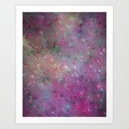 Vortex Footprints Art Print