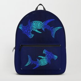 Ombre Blues Hammerhead Backpack