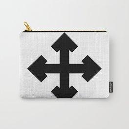 Pointed Krückenkreuz Crutch Cross Martial Heathen symbols Carry-All Pouch