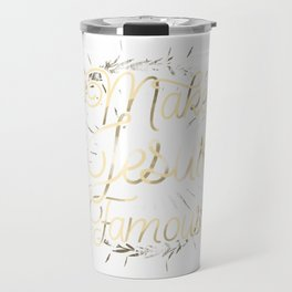 Make Jesus Famous Travel Mug