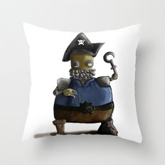 Iso, the Fat Captain Throw Pillow