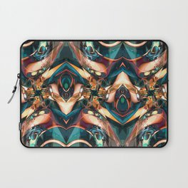 Colorful Abstract Collage Laptop Sleeve