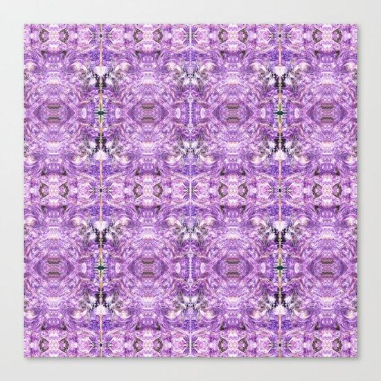 lilac stone flower Canvas Print