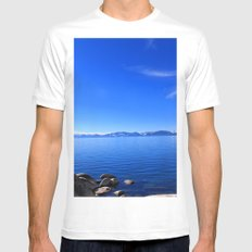 Tahoe White Mens Fitted Tee MEDIUM