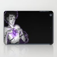 asexual iPad Cases featuring Ace of Diamonds by Kieran Thompson