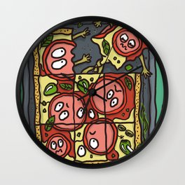 Pizzassacre Wall Clock