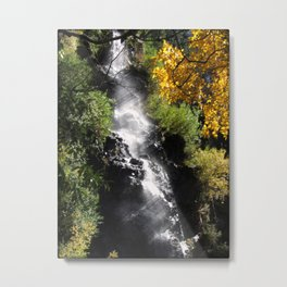 The Magic Falls Metal Print