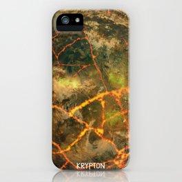 Krypton - Kryptonian Home World iPhone Case