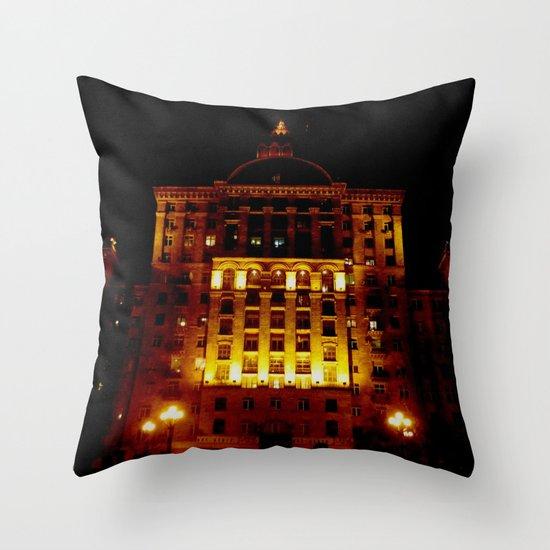Night Crest 1 Throw Pillow