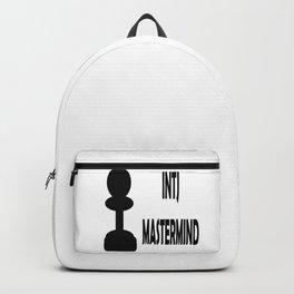 INTJ MASTERMID MBTI rare personality type Backpack