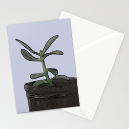 The Plant Bianca Watered Stationery Cards