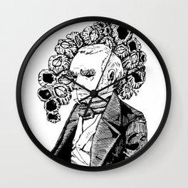 Darwin and His Barnacles Wall Clock