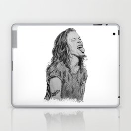 Harry Styles with tongue out Laptop & iPad Skin