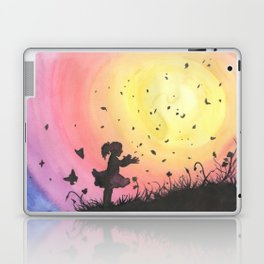 Surrounded By Love / Les Papillons Laptop & iPad Skin