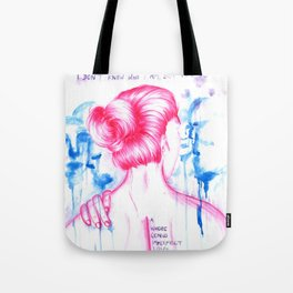 I DON'T KNOW WHO I AM - Equilibrium Tote Bag