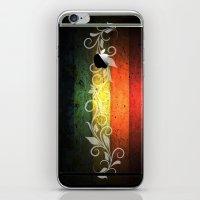 reggae iPhone & iPod Skins featuring Reggae Romantic by Ev@d Art$