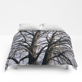 Stained Glass Tree Comforters