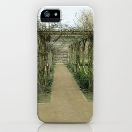 A Winding Way iPhone Case