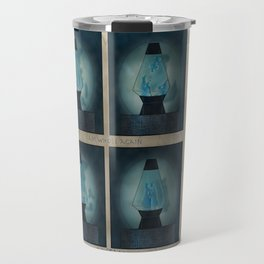 A Moment in Time (Blue) Travel Mug