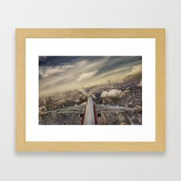 Kennedy tower Iberia 6253 Framed Art Print