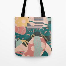 Tribal pastels Tote Bag