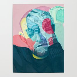 American Rapper Mac Miller Canvas-Mac Miller Circles Music Art Canvas Printed Picture Wall Art Decoration POSTER or CANVAS READY Poster