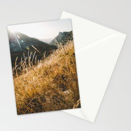 Sunrise on the top Stationery Cards