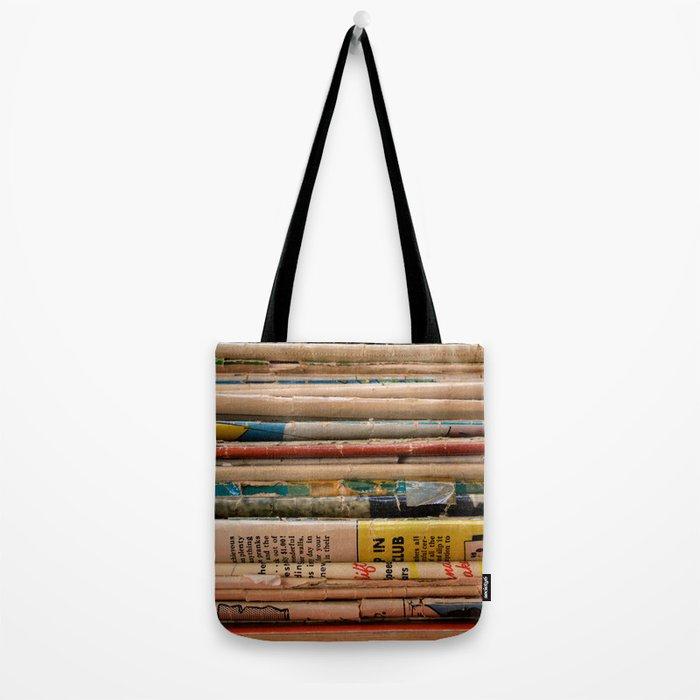 Comic Books Tote Bag
