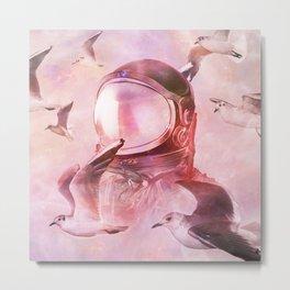 Flying Thru Metal Print