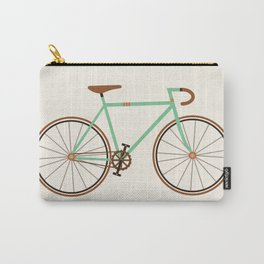 Green Fixie Carry-All Pouch