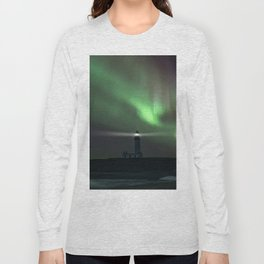 When the northern light appears Long Sleeve T-shirt