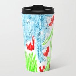 dancing flowers Travel Mug