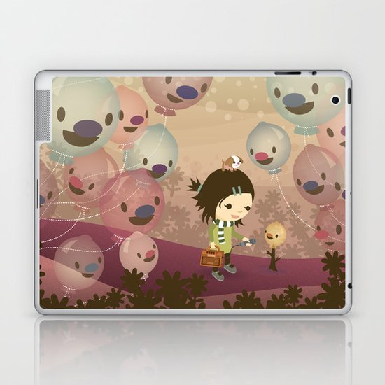 Balloon Tree Song Laptop & iPad Skin