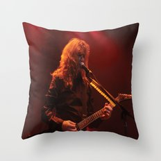 Megadeth Live at the State  Throw Pillow