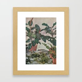 Plantlife - Safari Framed Art Print