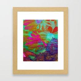 Floral Fantasy 2 Framed Art Print
