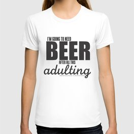 Long Day = Beer T-shirt