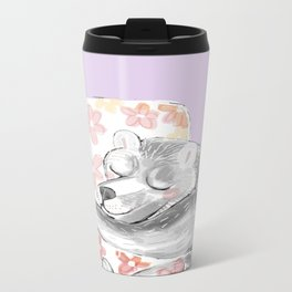 Would you be my sleepy bear? #3 Metal Travel Mug