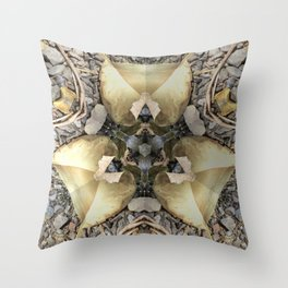 A Patterned Ground Throw Pillow
